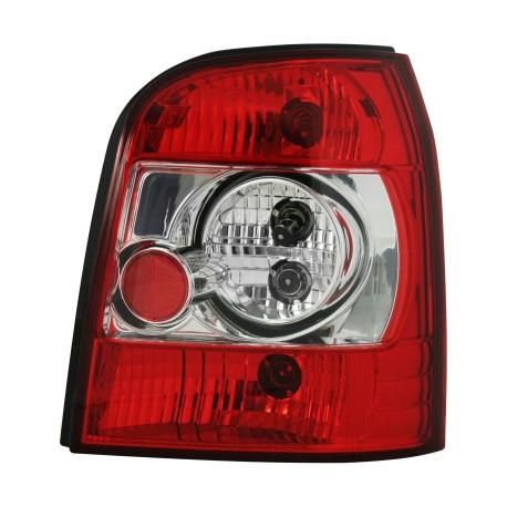 Feux arrière, Audi A4 Avant B5 95-01, clair/rouge