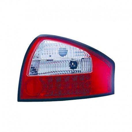 Feux arrière à LED, Audi A6 C5  97-04, clair/rouge