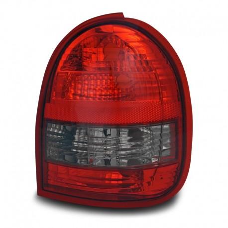 Feux arrière, Opel Corsa B 93-00 (2 portes), rouge/noir