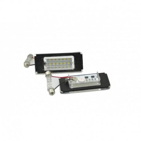 Éclairage de plaque d'immatriculation, 2 pièces, Mini Cooper R52 / R55 / R55N / R56 / R56N / R57 / R57N / R58 / R59