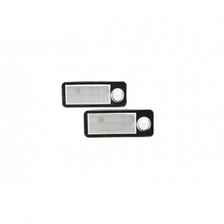 Éclairage de plaque d'immatriculation, 2 pièces, Audi A6 C5/ 4B Avant 98-05, RS6/RS6 Plus 03-05