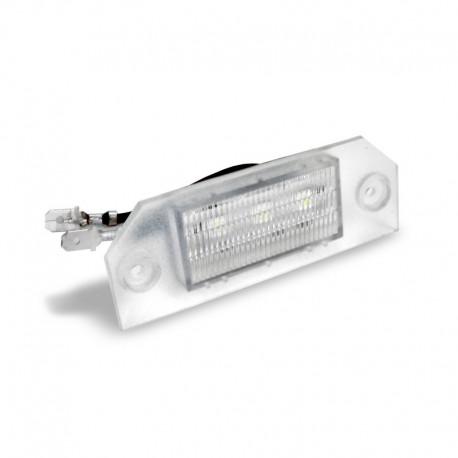Éclairage de plaque d'immatriculation, 2 pces à 3 SMD, Ford Focus 2 04-08, homologué CEE