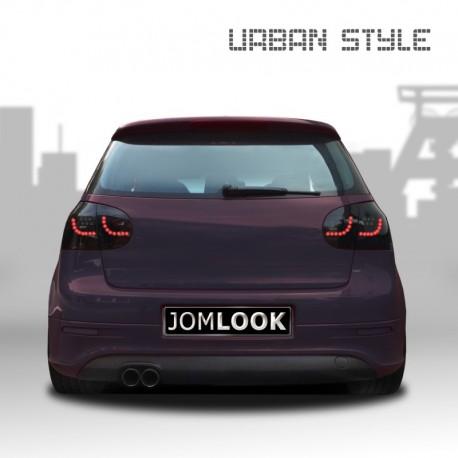 Feux arrière, LED, VW Golf 5 (03-08) Urban style two, noir
