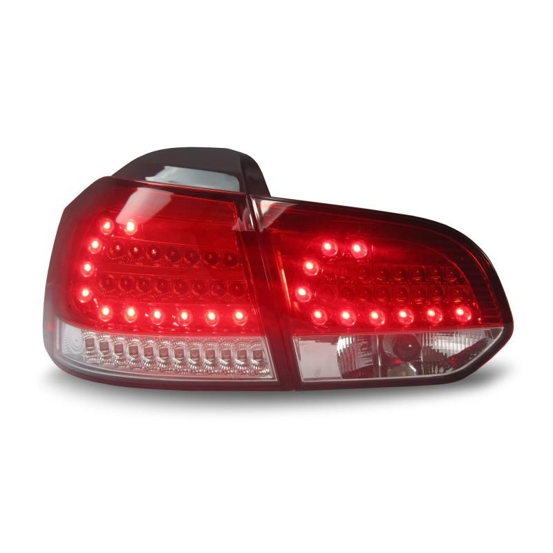 feux arri re urban style vw golf 6 08 12 led clignotants et feux de stop aussi led rouge. Black Bedroom Furniture Sets. Home Design Ideas