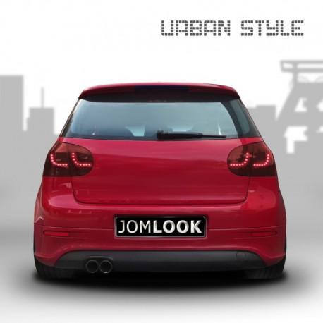 Feux arrière, LED, VW Golf 5 03-, new design, rouge foncé
