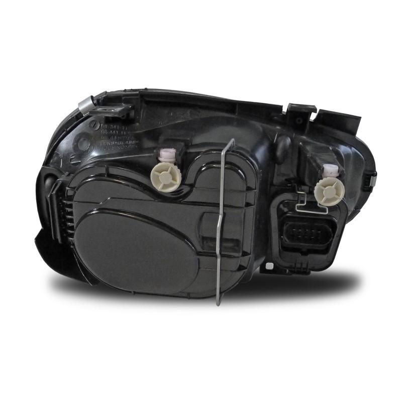 phares avant vw golf 4 98 03 sans antibrouillard face lisse fond noir avec clignotant et. Black Bedroom Furniture Sets. Home Design Ideas