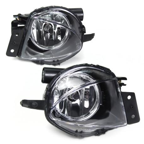 Set de 2 Antibrouillards design BMW E90 E91 (05-08) avec ampoules H11, claire