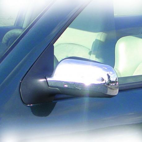 Coques de rétroviseurs, chrome, VW Polo 9N, 11.01-