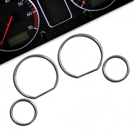 Encadrements pour manomètres, chrome, pour BMW E36