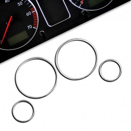Encadrements pour manomètres, chrome, pour BMW E39
