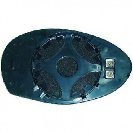 GLACE DE RETROVISEUR EXTERIEUR GAUCHE - CHAUFFANTE POUR ALFA ROMEO 147 (04-09)