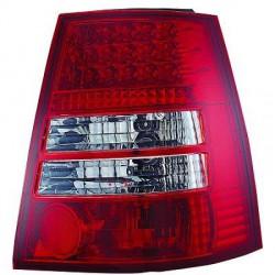 SET FEUX ARRIERES ROUGE - BLANC À LED VW BORA BREAK (98-05) - GOLF 4 BREAK (97-03) - VARIANT