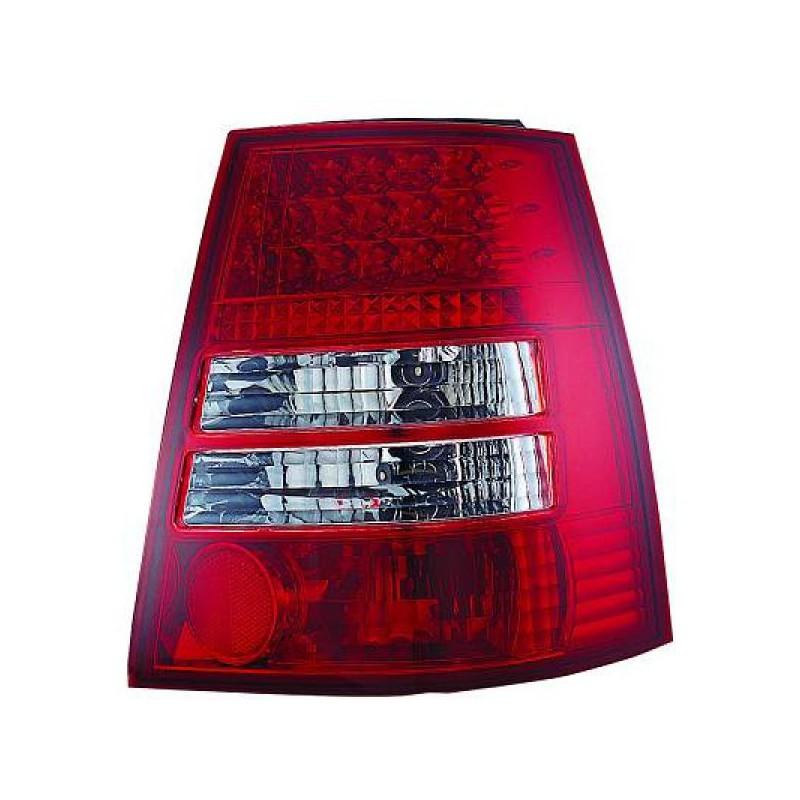 set feux arrieres rouge blanc led vw bora break 98 05. Black Bedroom Furniture Sets. Home Design Ideas