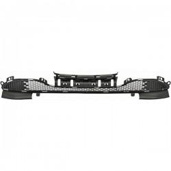 contour de calandre grille centrale peugeot 208 12 15 chrome autodc. Black Bedroom Furniture Sets. Home Design Ideas