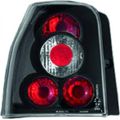 SET DE FEUX ARRIERES DESIGN NOIR POUR SEAT AROSA 6H (97-00) - MOD 2