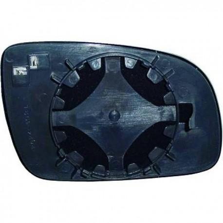 GLACE DE RETROVISEUR EXTERIEUR DROIT POUR SEAT AROSA 6H (97-00) - CHAUFFANTE
