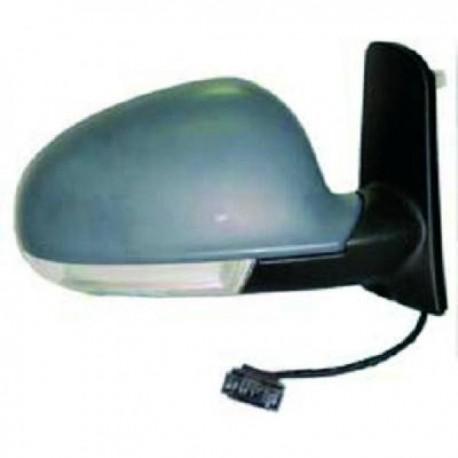 RETROVISEUR EXTERIEUR GAUCHE - ELECTRIQUE - RABATTABLE POUR SEAT ALHAMBRA (00-10) - AVEC CLIGNOTANT