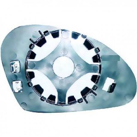 GLACE DE RETROVISEUR EXTERIEUR DROIT - CHAUFFANTE POUR SEAT TOLEDO (04-09)