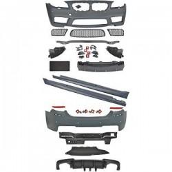 Kit complet look M5 pour BMW série 5 F10 berline (10-13) Pare-chocs avant-arrière-bas de caisse