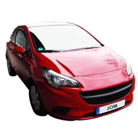 Calandre, JOM, Opel Corsa E (15-17), sans sigle, noir