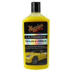 SHAMPOING MEGUIAR'S ULTIMATE WASH & WAX - 473ML - G17716