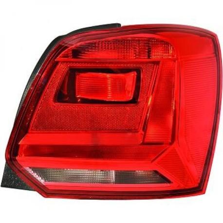 FEUX ARRIERE GAUCHE VW POLO 6C (14-17) - ROUGE