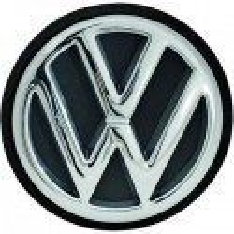 LOGO ARRIERE - EMBLEME D'ORIGINE VW GOLF 3 - III (91-97) + VW POLO (94-99) - CHROME