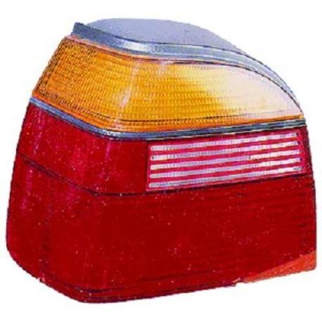 FEU ARRIERE DROIT VW GOLF 3 - III (91-97) + CABRIO (93-02) - ROUGE - ORANGE - PAS POUR VARIANT/BREAK