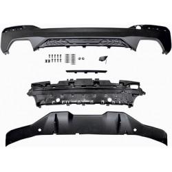 DIFFUSEUR ARRIERE - BAS DE PARE-CHOCS M-PERFORMANCE POUR BMW SERIE 5 G30 G31 (17-18) - AVEC PACK M