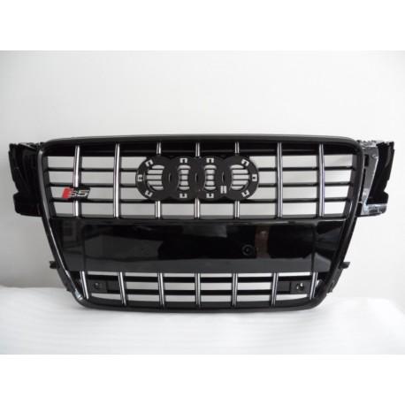 calandre look s5 audi a5 8t 07 11 finition noir contour noir autodc. Black Bedroom Furniture Sets. Home Design Ideas