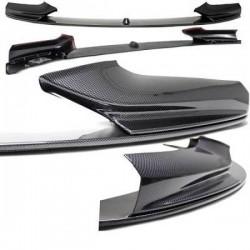 SPOILER - LAME AVANT M-PERFORMANCE POUR BMW SÉRIE 5 F10/F11 (10-17) AVEC PACK M - LOOK CARBONE