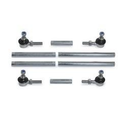 Kit biellettes réglables de barre stabilisatrice, plage de réglage 15-20cm, 22-27 cm, 27-32cm